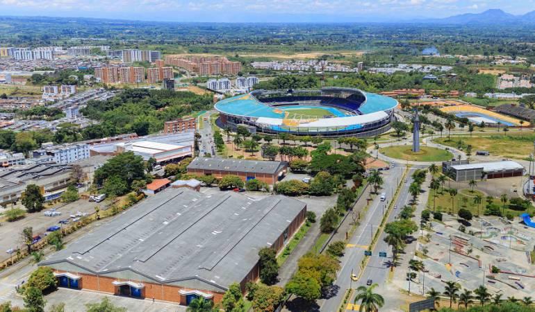 Escenarios deportivos: Adjudicada reparación de la cubierta del estadio Hernán Ramírez de Pereira