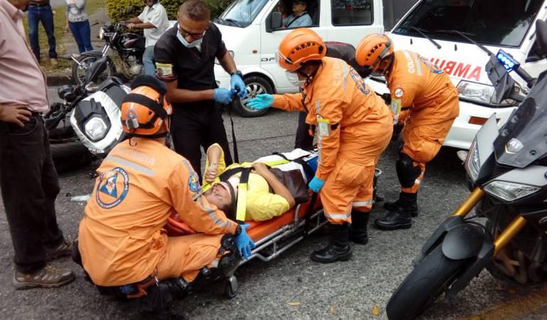 Lanzarán campañas para disminuir las muertes en las vías de Pereira: Lanzarán campaña para disminuir las muertes en las vías de Pereira