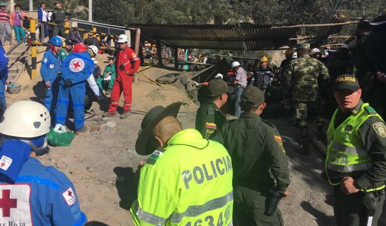 Explosión de mina en Boyacá.: Tres personas fallecieron tras explosión de mina en Boyacá