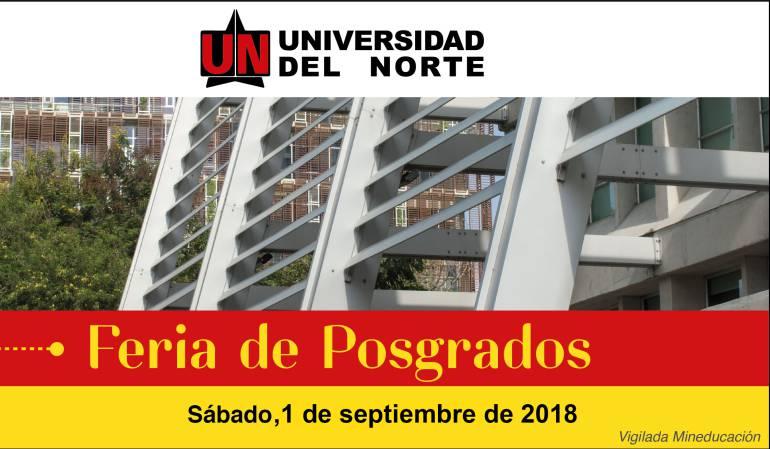 Feria de Posgrados Uninorte 2018 ¡Asiste e Inscríbete!