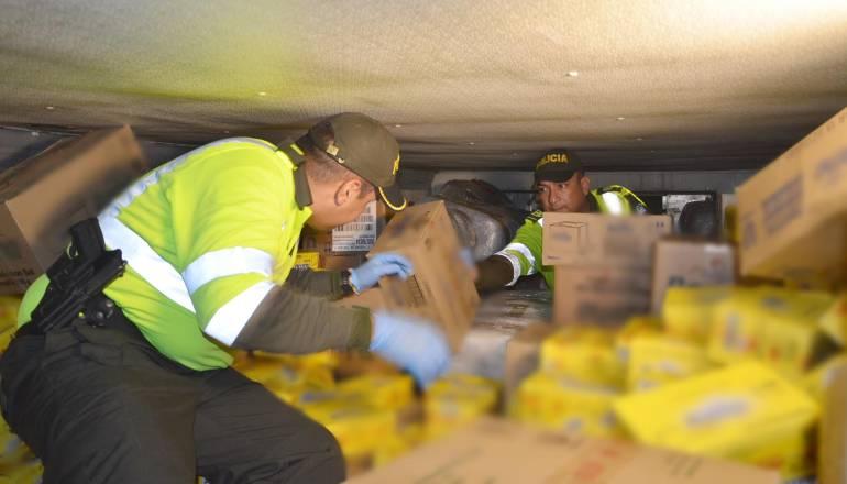 MARIHUANA MANTEQUILLA MEDELLÍN ANTIOQUIA LA PINTADA TONELADAS: Incautan 1400 kilos de marihuana en el Suroeste de Antioquia