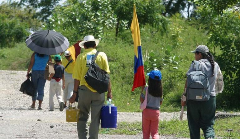 Grupos ilegales en Nariño: Desplazamiento en el Charco, Nariño