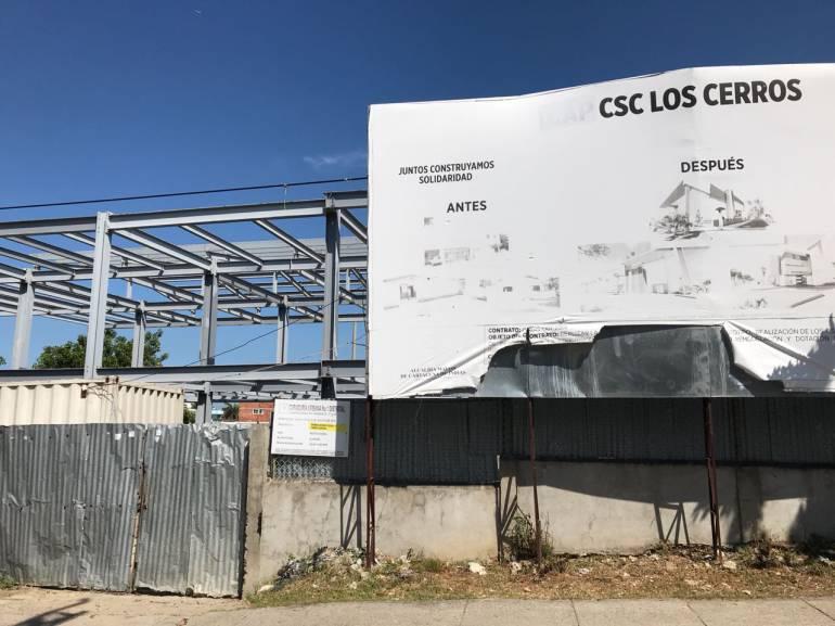 CAP de Los Cerros en Cartagena, tres años de abandono: CAP de Los Cerros en Cartagena, tres años de abandono
