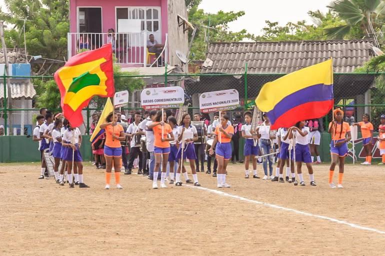 Se inauguran los Juegos Deportivos Corregimentales 2018 en Cartagena: Se inauguran los Juegos Deportivos Corregimentales 2018 en Cartagena