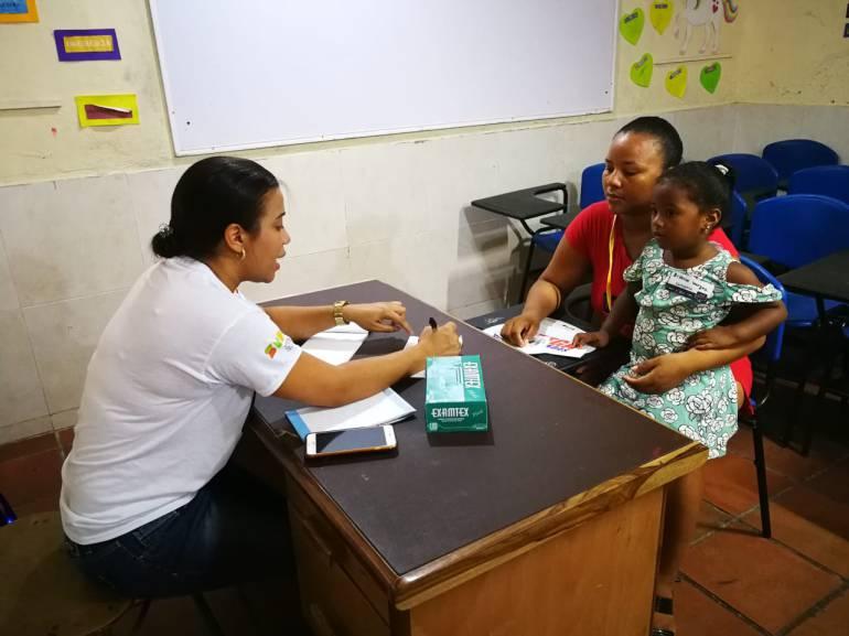 Más de 200 niños atendidos en Intervención en Salud de la SMPC: Más de 200 niños atendidos en Intervención en Salud de la SMPC