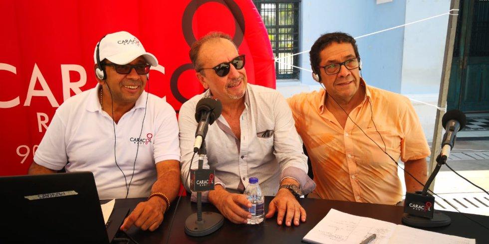 La alegría y las historias de Adlai Stevenson y Jorge Villalón contagiaron el programa Hoy x Hoy Barranquilla
