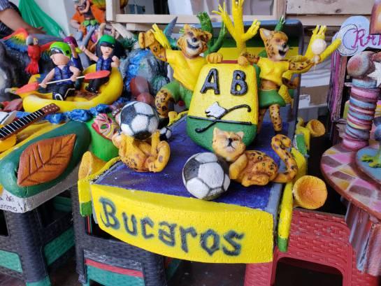 ASÍ ELABORAN LAS CARROZAS DEL DESFILE DE LA CULTURA EN BUCARAMANGA: Video: Así elaboran las carrozas para el desfile de las ferias
