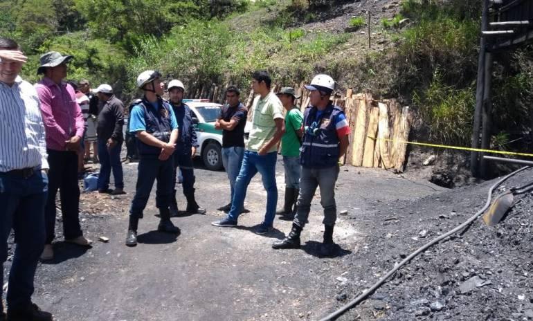 Venezolano murió tras accidente en mina de carbón en Santander: Venezolano murió tras accidente en mina de carbón