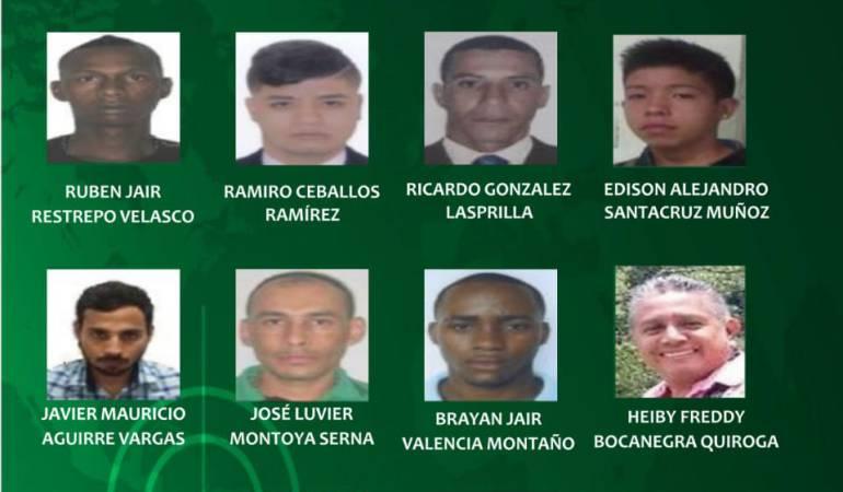 Los más buscados: Estos son los más buscados por la policía en el Valle del Cauca .