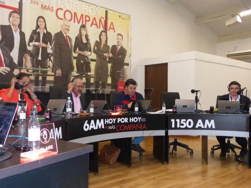 Emisión de 6AM HOY X HOY Con Darío Arizmendi desde el auditorio de la Edeq en Armenia