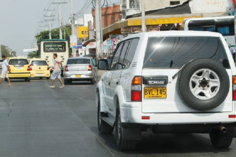 Placas alteradas Cartagena: Se han impuesto 89 comparendos por placas adulteradas en Cartagena