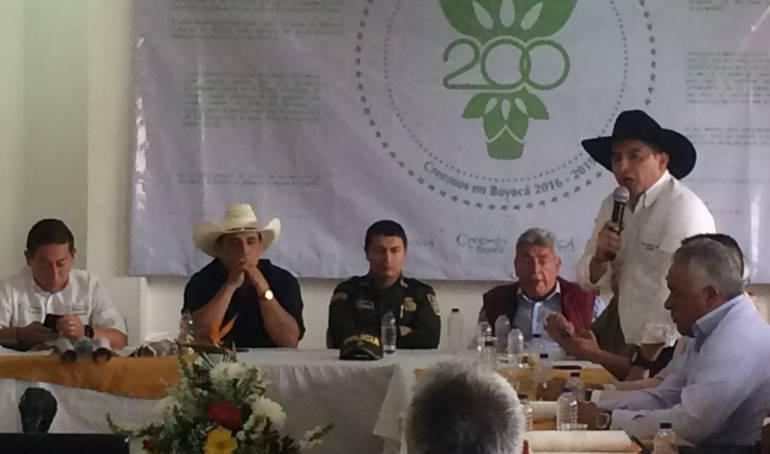 Aniversarios Tunja: Se priorizaron obras para Boyacá, Arauca y Casanare en el bicentenario