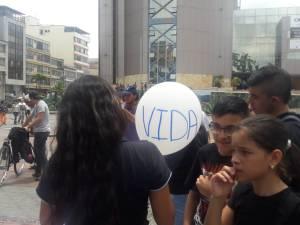 Estudiantes de los colegios le apuestan a la paz