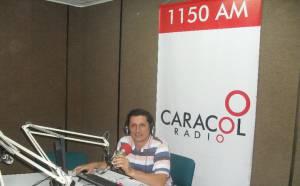 Danilo Gómez Herrera 30 años en Caracol Radio en Pereira y Armenia