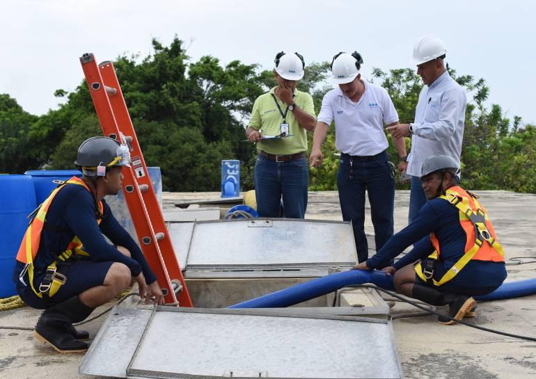 Agua potable: Inicia el bombeo de agua a 100 barrios en Barranquilla