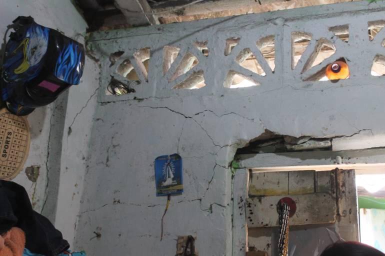 Desorden obras en Cartagena: En riesgo de colapso vivienda en Getsemaní por construcción de particular