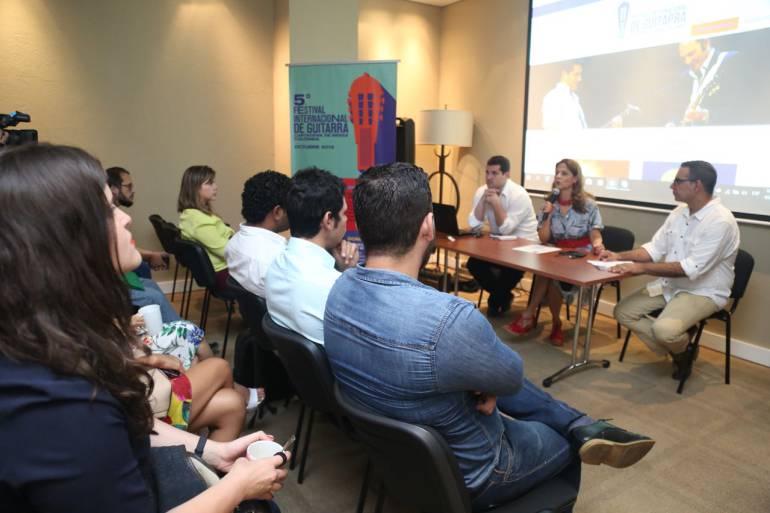Festivales en Cartagena: Lanzan en Cartagena el V Festival Internacional de Guitarras
