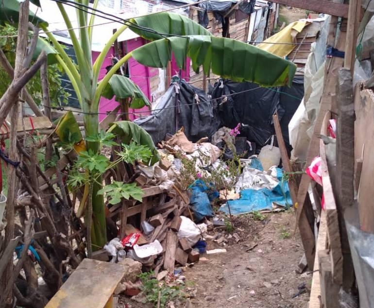 Crisis en Venezuela: 12 mil venezolanos viven en zonas de invasión en Barranquilla