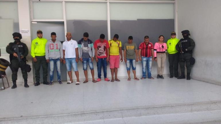 Banda que asesinaba por encargo en Soledad y Malambo fue capturada