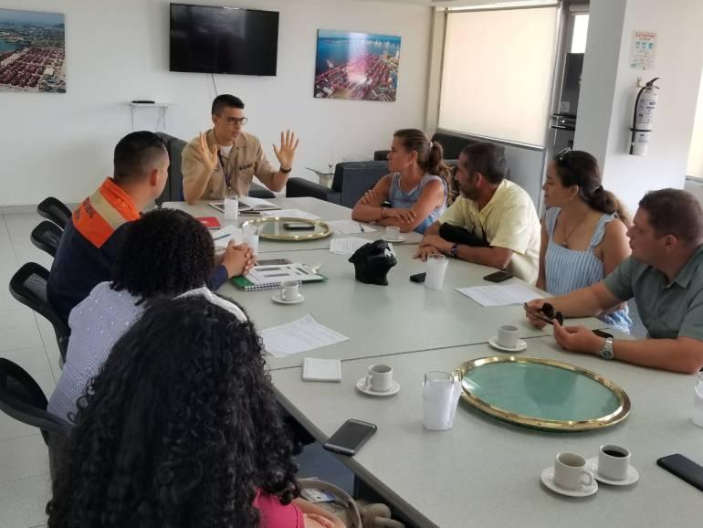 Dimar socializa normas para buceo recreativo en Cartagena: Dimar socializa normas para buceo recreativo en Cartagena