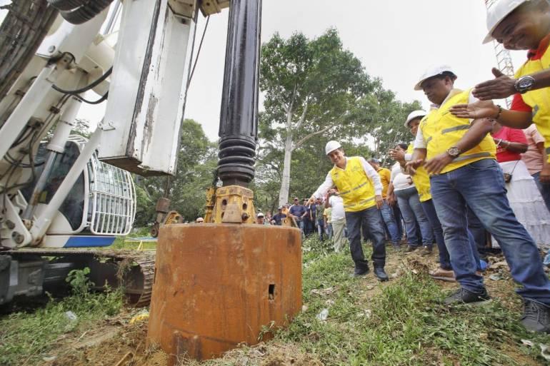 Dan inicio a construcción del puente San Estanislao-Soplaviento: Dan inicio a construcción del puente San Estanislao-Soplaviento
