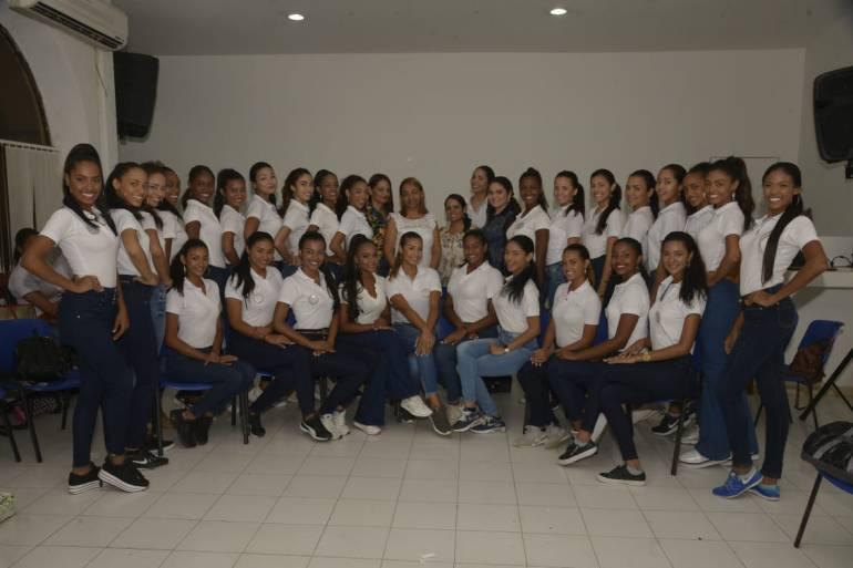 Fiestas de Independencia de Cartagena: Reinas de la Independencia firman pacto de no violencia contra la mujer