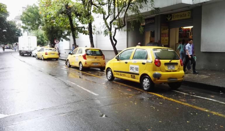 Botón de pánico en gremio de taxistas.