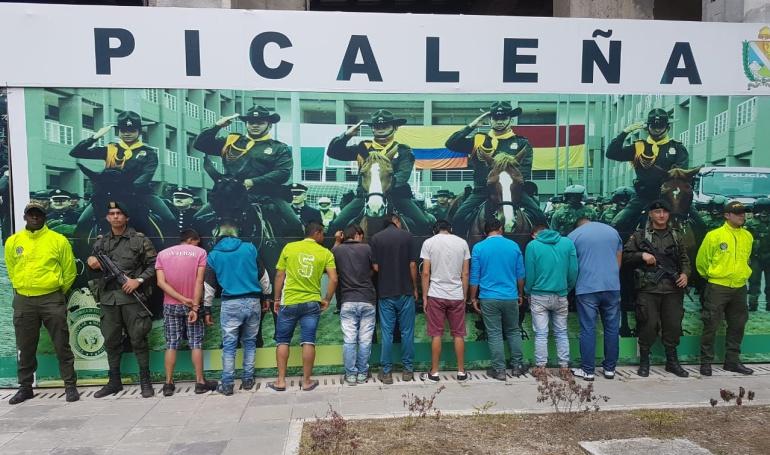 """Bandas de narcotráficantes: Policía capturó a banda """"Los Pelusas"""" por distribución de estupefacientes"""