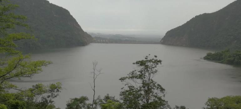 Abren compuertas en Hidrosogamoso: Por fuertes lluvias se abren compuertas de Hidrosogamoso