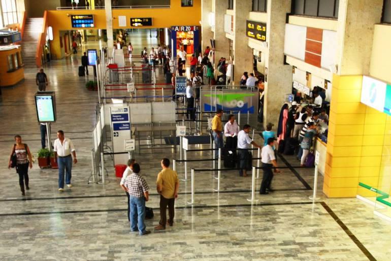 Llegada de pasajeros de Estados Unidos a Cartagena se duplicó este semestre: Llegada de pasajeros de Estados Unidos a Cartagena se duplicó este semestre