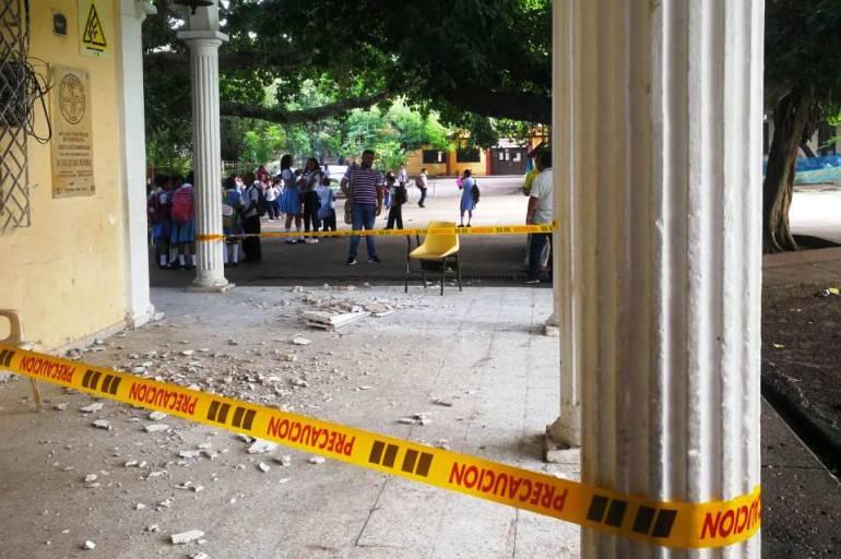 Definen lugar de traslado temporal de estudiantes del Fernández Baena: Definen lugar de traslado temporal de estudiantes del Fernández Baena