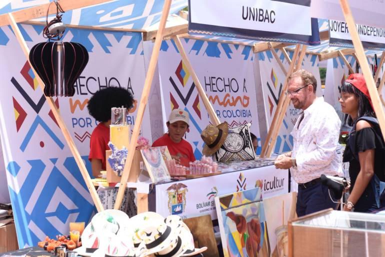 Abren al público Feria Hecho a Mano por Colombia en el marco del Festijazz: Abren al público Feria Hecho a Mano por Colombia en el marco del Festijazz