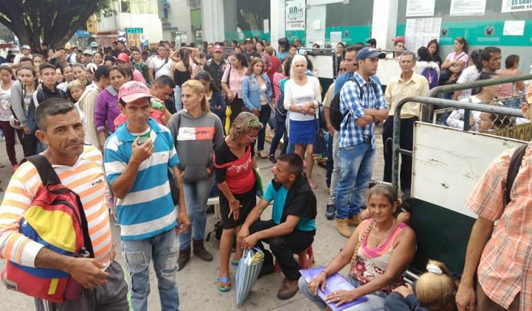 Extranjeros buscan nacionalidad Colombiana