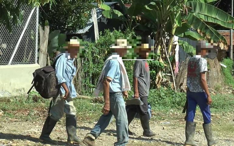 Crece éxodo de campesinos a La Caucana, en Tarazá