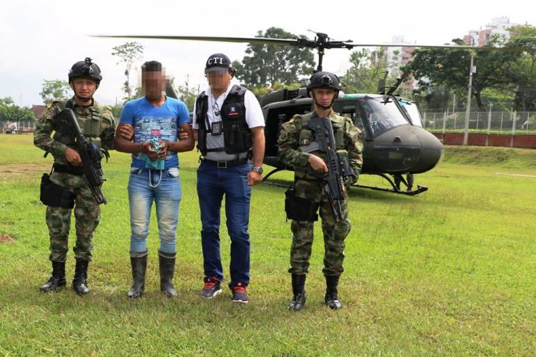 Capturado alias Osneider, cuarto cabecilla del ELN en el sur de Bolívar: Capturado alias Osneider, cuarto cabecilla del ELN en el sur de Bolívar