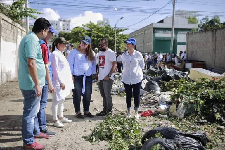 Alcaldesa de Cartagena exigió a Policía sanciones por basureros satélites: Alcaldesa de Cartagena exigió a Policía sanciones por basureros satélites