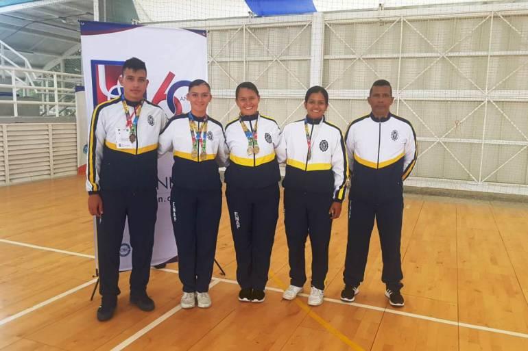 Escuela Naval de Cadetes obtiene cuatro oros en taekwondo: Escuela Naval de Cadetes obtiene cuatro oros en taekwondo