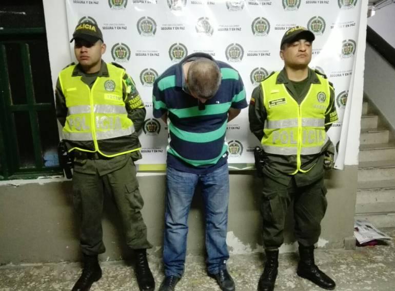 Capturan en Amagá a un abusador de una niña de 8 años