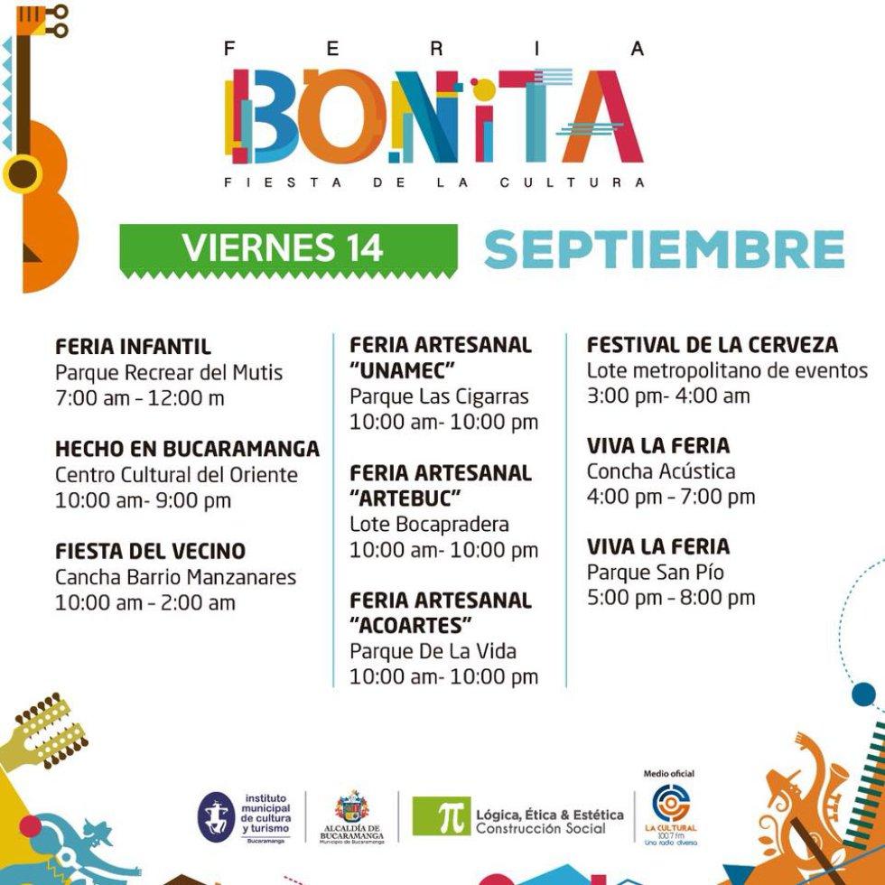 Dentro de las 19 actividades de la feria está 'Hecho en Bucaramanga' una propuesta que busca resaltar el talento de diseñadores santandereanos.