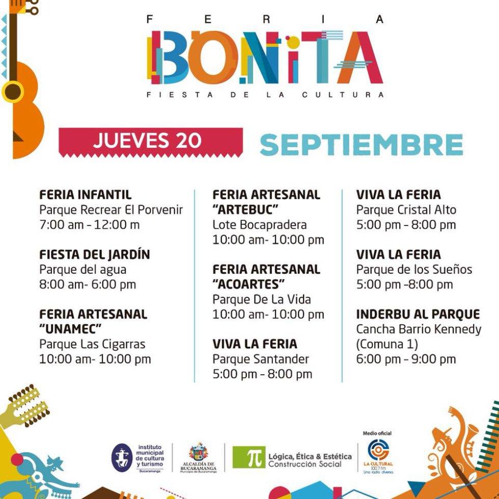 Del 13 al 23 de septiembre más de 90 agrupaciones artísticas de la región brillarán con su talento en los sitios de encuentro familiar.