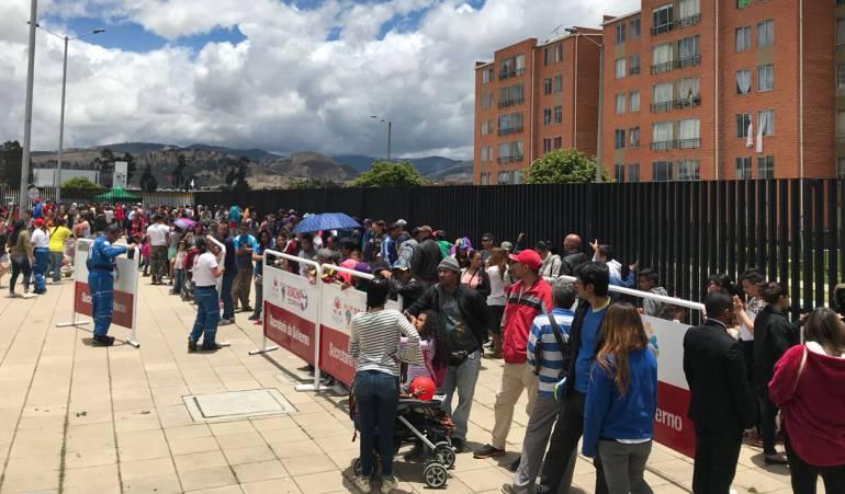 Migración venezolanos.: Venezolanos a punto de causar colapso en la ESE Vida Sinú
