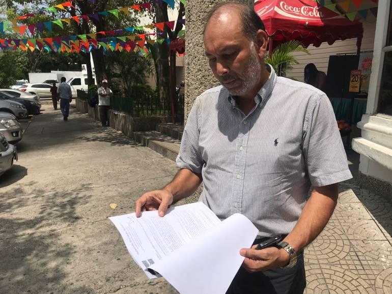Alcaldía Cartagena: El Partido Conservador fue irresponsable: Javier Bustillo Pertúz
