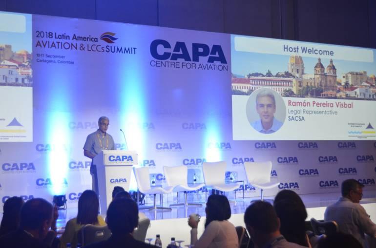 Cumbre Latinoamericana de Aviación: Cartagena, sede de la Cumbre Latinoamericana de Aviación