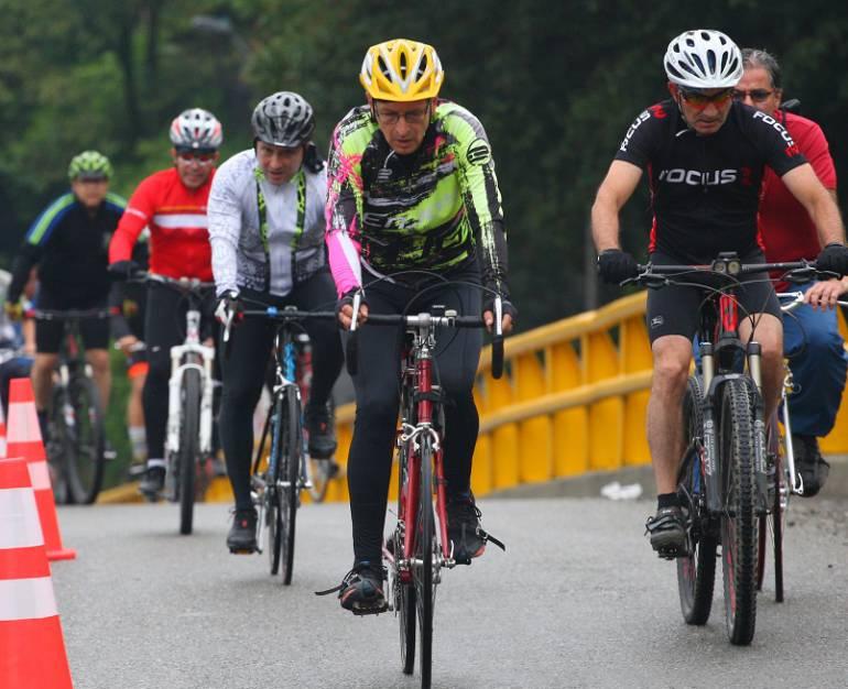 ciclovía, Medellín: Abren en la carrera 65 la nueva ciclovía para Medellín
