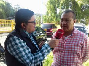 Aldemar Ospina Cubillo, rector de la institución educativa Ciudadela Cuyabra