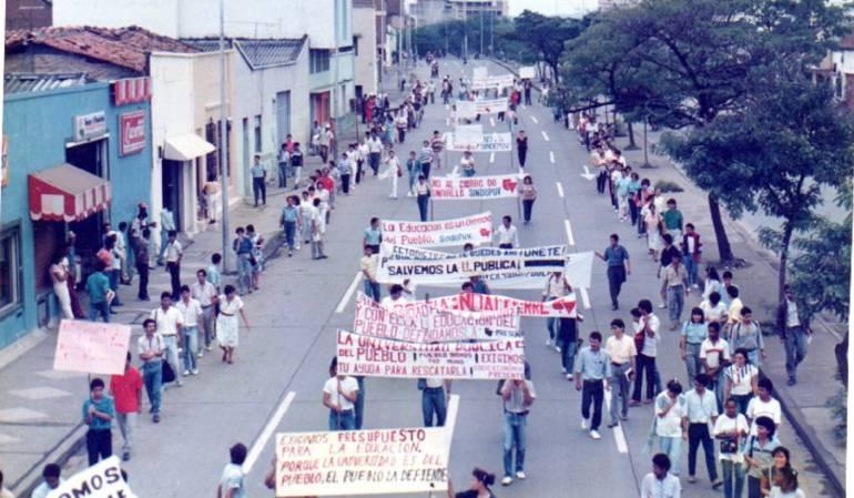 Marcha Univalle: Univalle se une este martes a la gran marcha nacional
