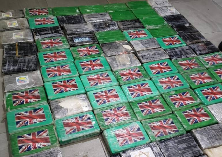 Decomisan 214 kilos de coca que iban de Cartagena a Alemania: Decomisan 214 kilos de coca que iban de Cartagena a Alemania