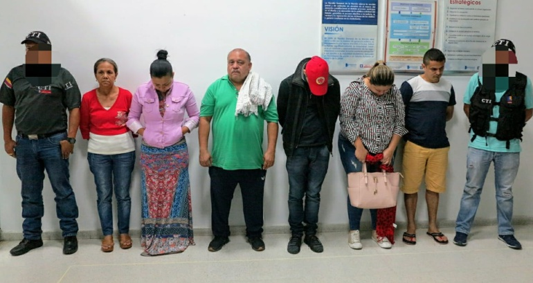 Los detenidos no aceptaron los cargos