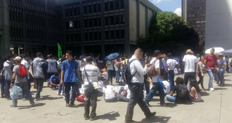 universidades, protestas, estudiantes: Comunidad de universidades públicas de Medellín protestan este martes
