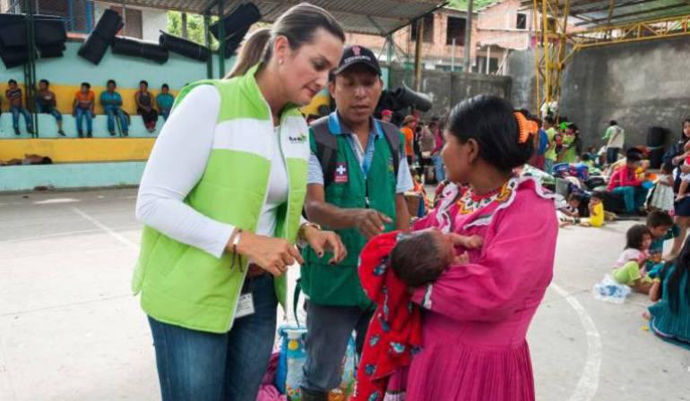 15 niños indígenas han fallecido en Risaralda en el transcurso del año